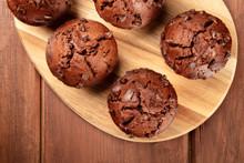 A Closeup Photo Of Chocolate C...
