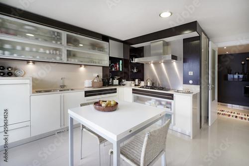 Fotografija  Interior de casa cozinha