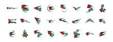 Jordan Flag, Vector Illustrati...