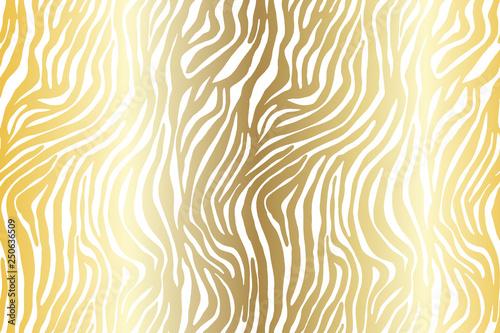 Vector animal print. Zebra ornament. Seamless pattern. Style background