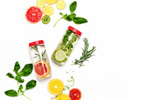 Infused Waters With Various In...