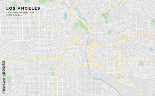 Obrazy Los Angeles  mapa-ulic-do-wydrukowania-w-los-angeles-w-kalifornii