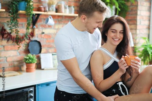 Fotografia, Obraz  Couple at home