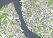 Map Of The City Of Liverpool, ...