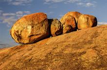 Massive Boulders Near Rhodes' Grave Site
