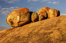 Massive Boulders Near Rhodes' ...