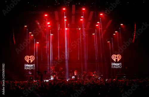 The National performs during the iHeartRadio Alter Ego