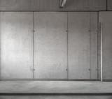 Concrete Wall with Floor podium Interior Room Background