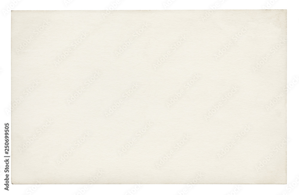 Fototapety, obrazy: Vintage paper background isolated - (clipping path included)