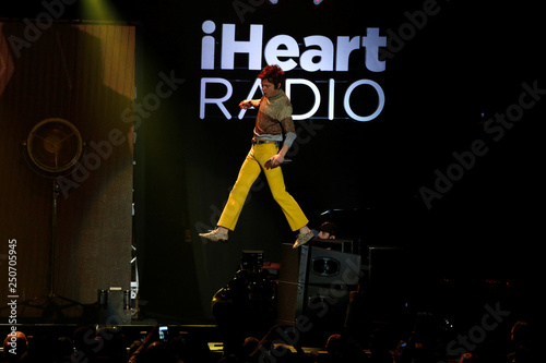 Shultz of Cage the Elephant performs during the iHeartRadio