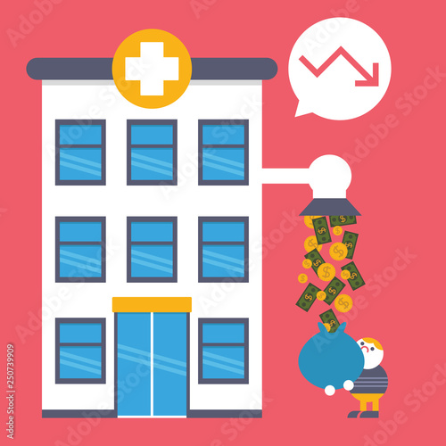 Fotografia Medical Debt Hospital Bill