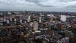 Aerial View of London, East London, United Kingdom