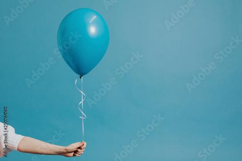 Carta da parati Helium balloon on a string