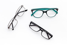 Set Of Glasses With Transparen...