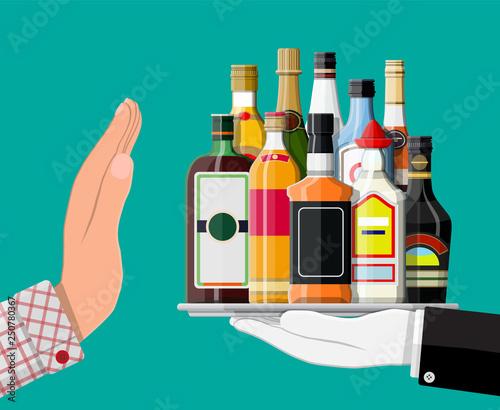 Fotografía Alcohol abuse concept