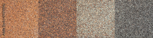 roof shingle texture Canvas Print