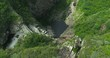 Cachoeira Rabo de Cavalo (Horsetail Waterfall) in Conceição do Mato Dentro, Minas Gerais, Brazil