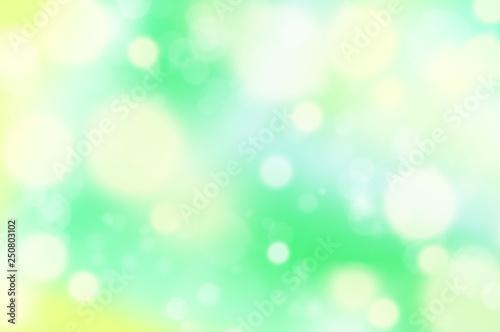 Obraz 光, 輝き,水玉のバックグラウンド - fototapety do salonu