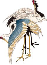 浮世絵 鶴 その3