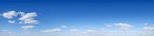 Panorama - Blue Sky And White ...