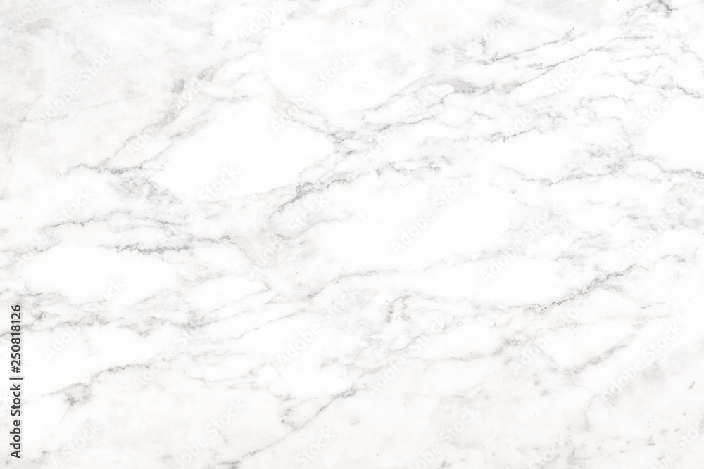 Fototapety, obrazy: Abstract white natural marble texture background High resolution or design art work,White stone floor pattern for backdrop or skin luxurious.