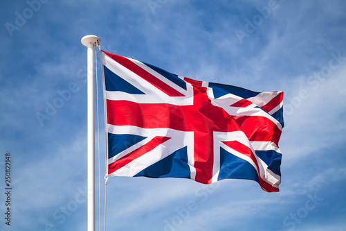 Canvas Print Flag of the United Kingdom