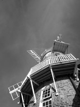 Classic Windmill At Cley Next The Sea, Norfolk, UK