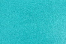 Bright Teal Glitter Paper Back...