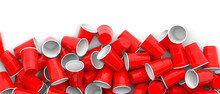 Plastic Red Color Disposable C...