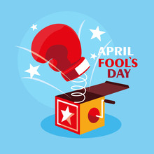 April Fools Day Surprise Box