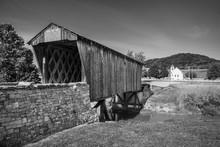Goddard Covered Bridge, B&W
