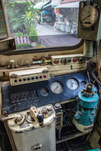 The Train Driver's Cab In The ...