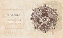 Esoterics. All Seeing Eye And ...