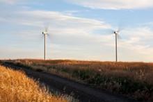 Wind Turbines, Palouse, Washin...