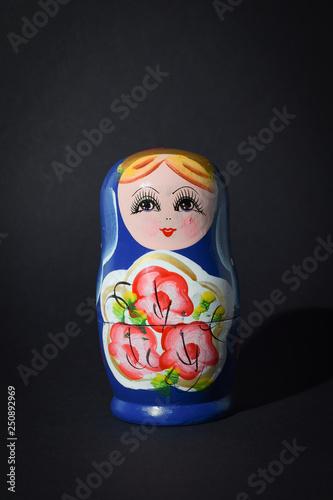 russian doll babushka Canvas Print