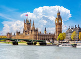 Fototapeta Big Ben - Big Ben and Houses of Parliament, London, UK