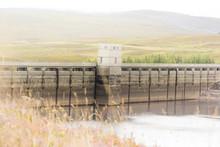 Loch Glascarnoch Dam In Highla...