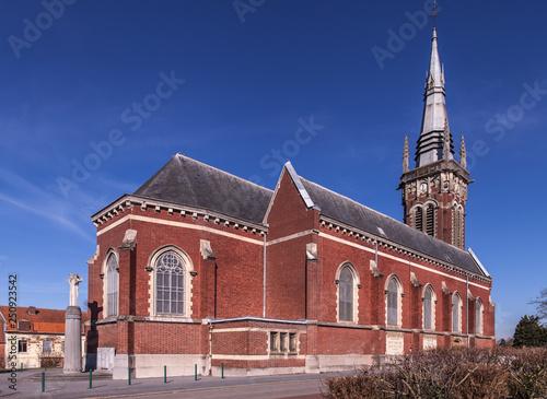 Obraz na płótnie Liévin (Pas de Calais - France) - Eglise Saint Martin