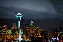 Seattle During Night