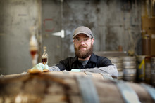 Portrait Of Brewery Worker Wit...