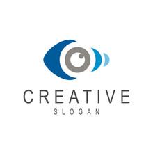 Fish Eye Creative Logo Design