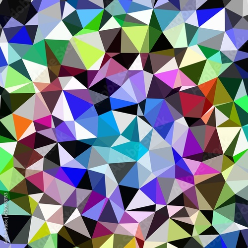 Vászonkép Abstract background multicolored geometric poligonal