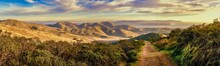 Marin Headlands Trail View Of ...