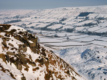 North York Moors National Park In North Yorkshire - England