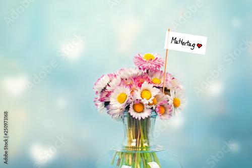 Valokuva  Muttertag - Blumengruß