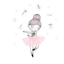 Cute Little Dancing Ballerina ...