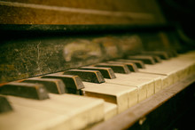Old Abandoned Piano Covered By...