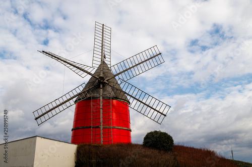 Moulin rouge de Nailloux, Haute garonne Canvas Print