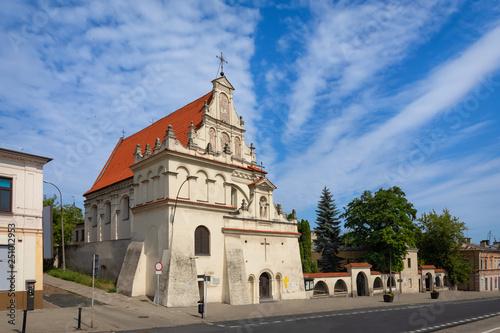 Lublin, Poland. St. Joseph's Church - 17th-century Roman Catholic church in old town