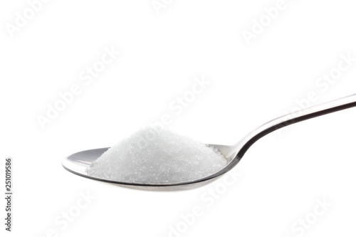 Obraz na plátně  sugar in spoon